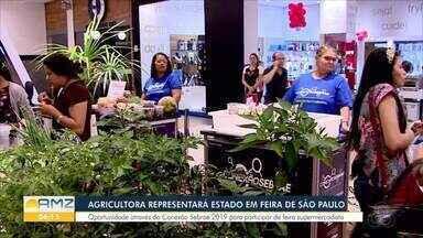 Agricultora representará Rondônia em feira de São Paulo - Oportunidade através do Conexão Sebrae 2019 para participar de feira supermercadista