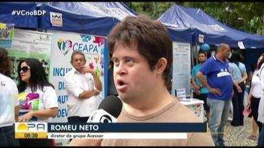 Eventos debatem o transtorno do espectro do autismo em Belém - A programação segue até sexta-feira.