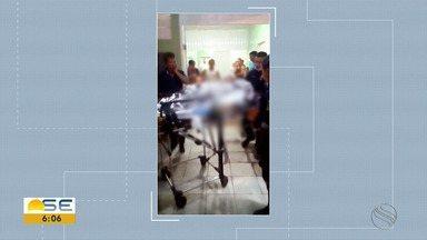 Menina atingida por raio em Itabaianinha morre no Huse - Menina atingida por raio em Itabaianinha morre no Huse.