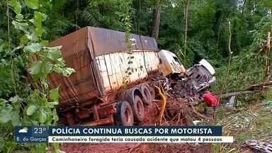 Polícia procura por motorista que se envolveu em acidente na região de Tangará da Serra - Polícia procura por motorista que se envolveu em acidente na região de Tangará da Serra