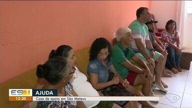 Voluntários oferecem casa, alimentação e carinho para quem vai ao médico longe de casa - Exemplo de solidariedade em São Mateus.