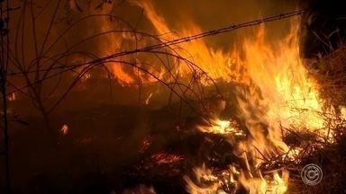 Sorocaba registra 15 incêndios em áreas públicas e residências no fim de semana - 15 incêndios foram registrados em Sorocaba (SP) neste fim de semana, segundo o Corpo de Bombeiros. Felizmente, ninguém ficou ferido. Esses casos foram tanto em áreas públicas quanto em residências, uma delas na Vila Barão.