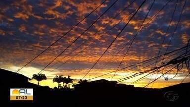 Veja as fotos do amanhecer desta terça-feira em Alagoas - Fotos foram enviadas pelos telespectadores da TV Gazeta.