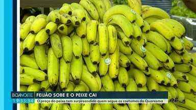 Pesquisa divulga preço dos alimentos nos supermercados - Feijão está mais caro nas prateleiras.
