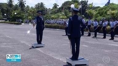 Major Brigadeiro do Ar César Farias Guimarães assume comando do Cindacta III - Passagem do comando foi realizada nesta quarta-feira (3).