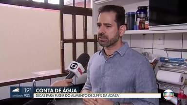 Especialista dá dicas de como economizar água - Com o aumento de 2,99% nas contas de água, o brasiliense precisa economizar mais para não pesar no bolso.