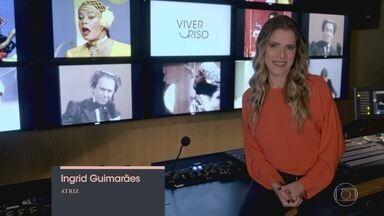 Capítulo de 04/04/2019 - Ingrid Guimarães debate transformações na comédia brasileira e questiona os limites do humor com comediantes e roteiristas como Gregório Duvivier, Marcelo Adnet e Fil Braz.