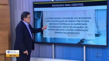 Cláudio Brito dá dicas para aposentados não serem perturbados com ofertas de empréstimos - Confira o comentário.