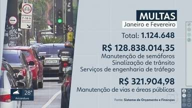Prefeitura da capital usou dinheiro de multas de trânsito para outras finalidades - O Ministério Público instaura ação por atos de improbidade.