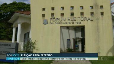 Moradores de Serranópolis vão as urnas neste domingo - Dois candidatos disputam a prefeitura.