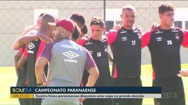 Quatro times paranaenses disputam uma vaga na grande decisão do Paranaense - Os jogos são neste fim de semana