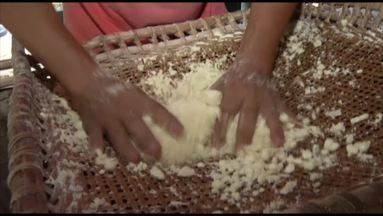 Comunidade quilombola Boa Vista do Itá produz goma de tapioca há cerca de 40 anos no Pará - O lugar fica há mais de 20 km do centro de Santa Izabel do Pará.