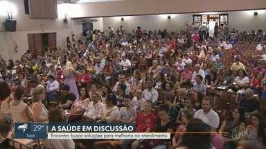 Conferência Municipal de Saúde busca soluções para melhoria no atendimento de Campinas - Neste sábado (6), a Conferência acontece na Faculdade Anhanguera, na unidade Taquaral, até às 17h.