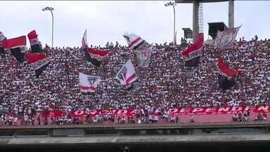 São Paulo faz treino aberto e leva 30 mil torcedores ao Morumbi antes de duelo contra o Palmeiras - São Paulo faz treino aberto e leva 30 mil torcedores ao Morumbi antes de duelo contra o Palmeiras