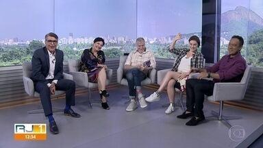 Miguel Falabella, Alessandra Maestrini e Mirna Rubim convidam para 'O Som e a Sílaba' - O espetáculo está em cartaz no Teatro XP, no Jockey Club.
