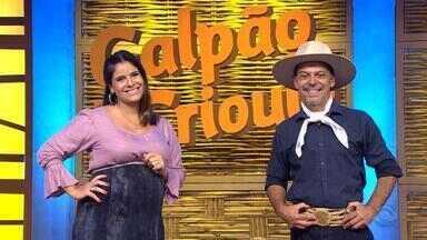 Reveja o quarto bloco do Galpão Crioulo - Assista ao vídeo.