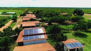 No interior, produtores utilizam energias renováveis na agricultura - Confira mais notícias em g1.com.br/ce