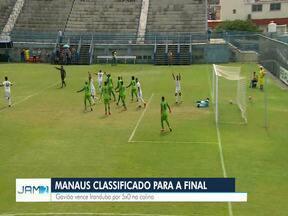 Manaus se classifica para final - Partida contra Iranduba aconteceu na Colina.