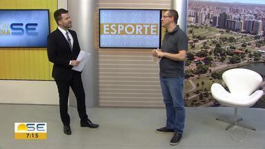Confira as notícias do esporte desta segunda (08/04) - Thiago Barbosa fala sobre última rodada do Hexagonal.