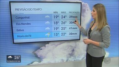 Confira a previsão do tempo para a semana no Sul de MG - Confira a previsão do tempo para a semana no Sul de MG