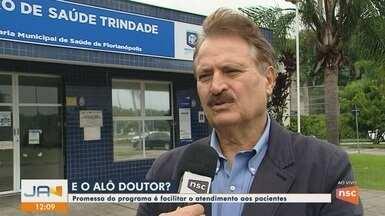 Secretário Municipal da Saúde fala sobre projeto 'Alô Doutor' - Secretário Municipal da Saúde fala sobre projeto 'Alô Doutor'