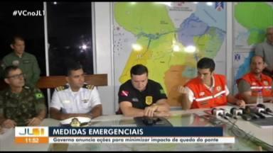 Obras para reconstrução de ponte da Alça Viária custarão mais de R$ 100 mil - Governo decretou estado de Emergência para agilizar medidas.