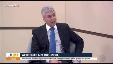 Ministério Público cobra inquérito para apurar causas do acidente na Alça Viária - Secretaria de Transporte e Conselho Regional de Engenharia (CREA) apontam falhas em projeto original da Alça Viária, no rio Moju.