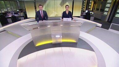 Jornal Hoje - Edição de segunda-feira, 08/04/2019 - Os destaques do dia no Brasil e no mundo, com apresentação de Sandra Annenberg e Dony De Nuccio