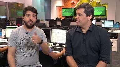 Cabral Neto comenta dúvida no ataque do Náutico: Wallace Pernambucano ou Odilávio? - Cabral Neto comenta dúvida no ataque do Náutico: Wallace Pernambucano ou Odilávio?