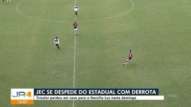 JEC se despede do Catarinense com derrota - JEC se despede do Catarinense com derrota