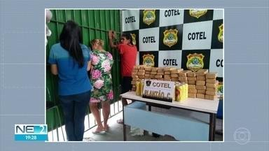 Mulheres são presas tentando entrar com 49,5 kg de maconha e latas de cerveja em presídio - Caso ocorreu no Cotel, no Grande Recife.