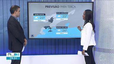 Previsão é de chuva para terça-feira no Sul do Rio - Tempo pode começar a firmar a partir de quinta.