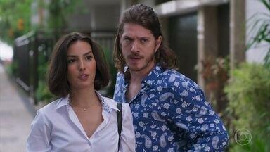 Larissa e Quinzinho pedem mais tempo para escolher o apartamento - Mercedes fica contrariada