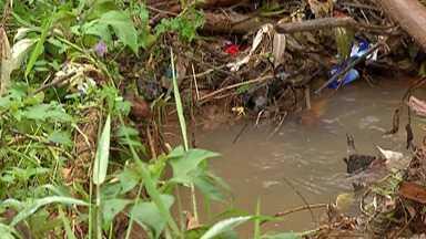 Moradores de Ferraz de Vasconcelos sofrem com enchente na cidade - Ruas e casas ficaram cheias de lama depois que a enxurrada passou na cidade.