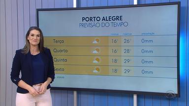 Tempo: sol predomina nesta terça-feira (9) e temperaturas devem aumentar - Assista ao vídeo.