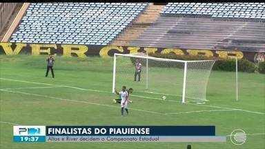 Altos e River-PI disputam título do Campeonato Piauiense 2019 - Altos e River-PI disputam título do Campeonato Piauiense 2019
