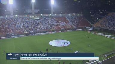Santos e Corinthians se enfrentam no jogo de volta das semifinais do Paulistão - O jogo acontece na noite desta segunda (8), no Pacaembu.