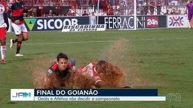 Goiás e Atlético vão decidir a final do Campeonato Goiano - A classificação do time rubro negro foi suada e marcada por muita chuva e confusão.