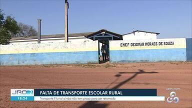 Quase 30 escolas rurais de Porto Velho continuam sem transporte escolar - Semed afirma que problema será resolvido até o fim deste mês.