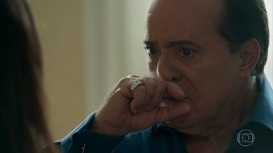 Olavo expulsa Luz e Geandro de sua casa - Empresário confronta Sampaio sobre Gabriel