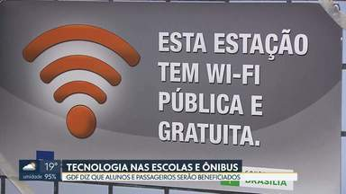 Governo quer ampliar o uso do Wi-Fi social no DF - Além do acesso grátis à internet, GDF fechou um acordo com empresa de tecnologia que vai beneficiar alunos da rede pública.