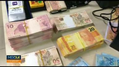 PM encontra 'fábrica' de dinheiro falso em Sarandi - História começou com apreensão em Loanda.