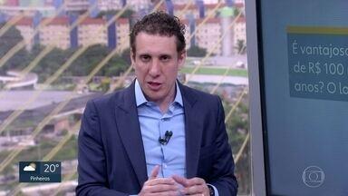 Samy Dana tira dúvidas dos telespectadores sobre economia doméstica - O especialista em economia Samy Dana esclarece questões enviadas pelos telespectadores ao SP de problemas financeiros.