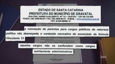 Prefeito de Gravatal diz que não vai cumprir recomendação do MP para exonerar familiares - Prefeito de Gravatal diz que não vai cumprir recomendação do MP para exonerar familiares
