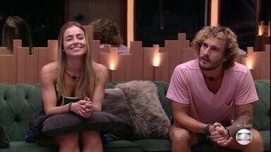 Programa de 11/04/2019 - Tiago Leifert explica desclassificação de Hariany. Carol é eliminada no último Paredão da temporada. Alan e Paula estão na final