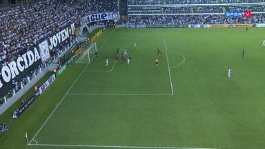 Santos 3 x 0 Atlético-GO