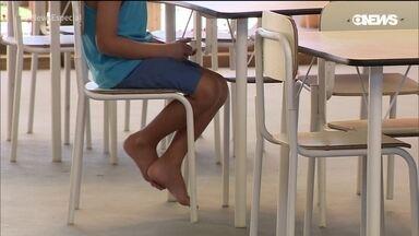 O abandono da educação infantil