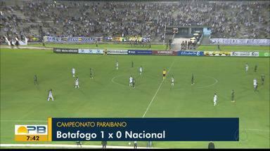 Botafogo-PB vence o Nacional de Patos e está na final do Campeonato Paraibano - O Belo superou o Canário do Sertão com gol de Clayton