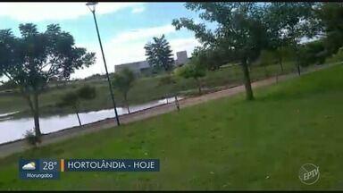 'Até Quando': Prefeitura de Hortolândia realiza manutenção no Parque Remanso das Águas - Manutenção foi realizada após cobrança do EPTV1.