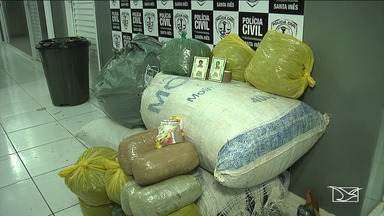 Três pessoas são presas por tráfico de drogas no Vale do Pindaré - Cerca de 70 kg de maconha foram apreendidos em ações da Polícia Civil e da Polícia Rodoviária Federal.